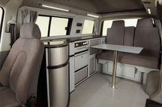 4 seat interior