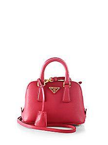 handbags \u0026amp; purses on Pinterest | Prada, Leather Shoulder Bags and ... - prada galleria bag laquer red