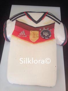 Fußballweltmeister, Deutschland Trikot Torte  Soccer Football worldcup Champion German Jersey cake fondant