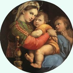 Retablo Colonna, 1504 // Raphael Sanzio