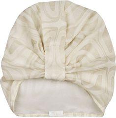 ShopStyle: Anna Sui Printed silk-chiffon turban hat