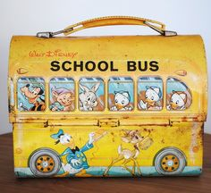 Disney Metal Lunch Box.   I had this lunchbox.......minus the rust!