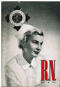 Vintage Mar 1950 RN Nurse Magazine Ads Hotel Dieu School of Nursing New Orleans | eBay