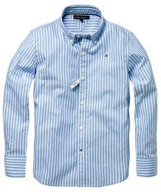 ...und für die Jungs: Tommy Hilfiger Hemd #boy #shirt www.fashion.engelhorn.de