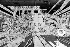 hartigancomics:  AKIRA (1982-1990) by Katsuhiro Otomo