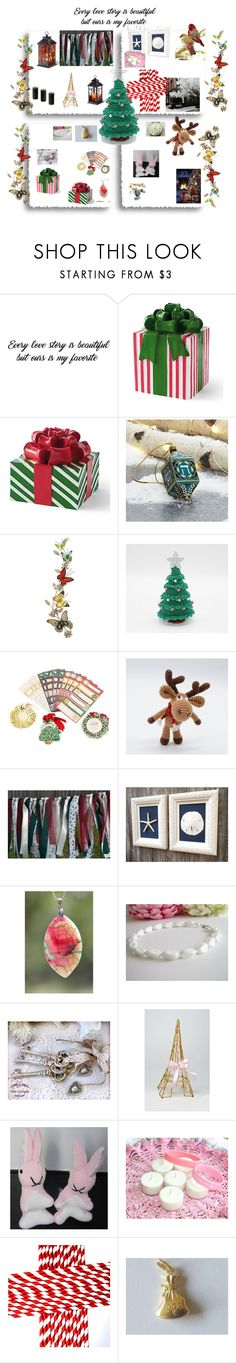 """Holidays"" by viyoli ❤ liked on Polyvore featuring Grandin Road, Crate and Barrel, Anna Griffin, Sibling and FRU"