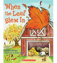 Autumn books. I use the book to teach cause and effect!  The kids love it!