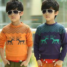 Áo len bé trai dài tay, thiết kế họa tiết nổi bật, màu sắc dễ thương