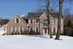 Homes can look appealing under a blanket of snow