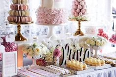Pink and ivory party
