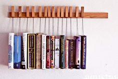 《創意書架》很多書也可以創意收納