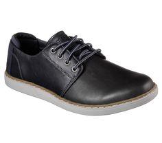 Skechers VERNES 65269  Black leather