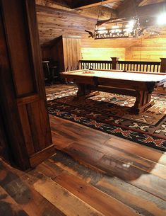 The finest reclaimed wood flooring from a leading manufacturer in the industry. Our reclaimed flooring offers wide planks of historic beauty for any decor. Reclaimed Hardwood Flooring, Old Wood Floors, Rustic Wood Floors, Cleaning Wood Floors, Wood Laminate Flooring, Wide Plank Flooring, Hardwood Floors, Flooring Ideas, Wood Floor Stain Colors