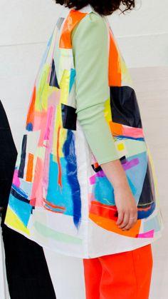 Fashion Mode, Fashion Week, Fashion Art, Love Fashion, Fashion Design, Textile Design, Fabric Design, Amber Day, Textiles