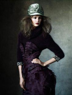 As seen in Magazine Antidote. Photographer: Victor Demarchelier Model: Kendra Spears Stylist: Yann Weber