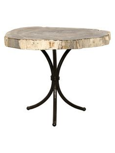 Petrified Accent Table from What's Your Furniture Style? on Gilt