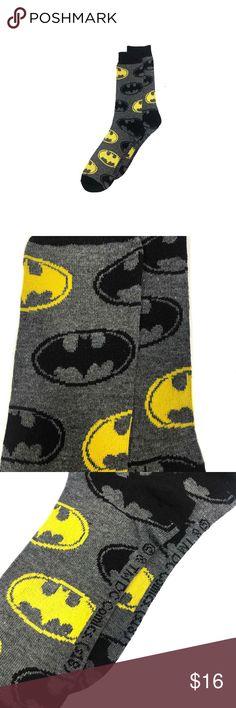 6 Mens Batman 100/% Official Cartoon Novelty Character Socks UK 6-11