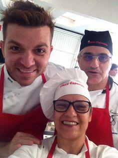 Com Guga Rocha e Mario Mangone no Instituto Chefs Especiais www.carlafalconi.com.br