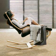 Fauteuil ergonomique Gravity™ Balans® par Variér - position 3 (relaxation  active) Lounge 64b5696e9636