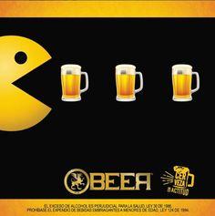 Pacman Cervecero Brewery Design, Pub Design, Beer Images, More Beer, Pub Crawl, Beer Humor, Brew Pub, Beer Festival, Beer Bar