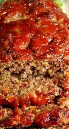Gourmet Meatloaf~