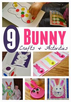 Toddler Approved!: 9 Bunny Crafts and Activities for Toddlers and Preschoolers