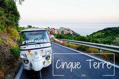 On te propose le classement, façon Miss Italie, des 5 villages des Cinque Terre, à découvrir en Tuk-Tuk et vue du ciel !