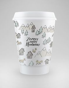 © nach - 2014 No story behind this cute cup  #packaging  with no source link : ( PD