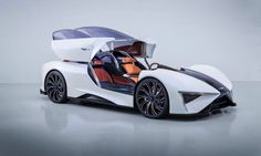 """A Chinese company called Techrules has unveiled a turbine-powered electric supercar called """"Ren"""" this week at the 2017 Geneva Motor Show."""