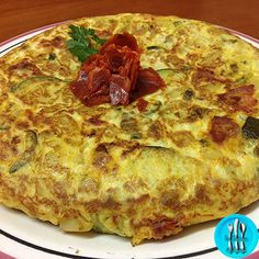 Tortilla paisana Recipe Images, Pizza, Eggs, Omelettes, Quiches, Cheese, Recipes, Food, Cooking