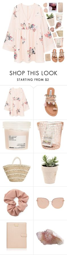 """""""dane"""" by vinylrekords ❤ liked on Polyvore featuring MANGO, Steve Madden, Davines, Forever 21, Topshop, Polaroid and Forever New"""