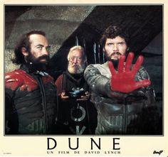 French Dune Lobby Card Stilgar (Everett McGill) and the Fedaykin