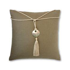 beach decor sanibel pillow