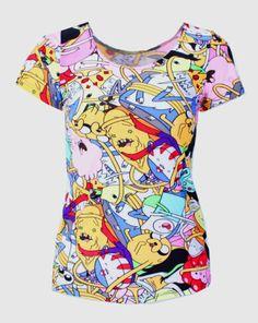 X 179 Adventure Time Imprimer Femmes T shirt Harajuku Punk D'été T shirts Vêtements Décontractés Ensemble dans T-Shirts de Femmes de Vêtements et Accessoires sur AliExpress.com | Alibaba Group