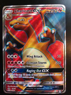 CHARIZARD GX FULL ART - Pokemon TCG: SM Black Star Promo SM60 M/NM Condition
