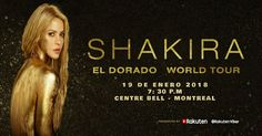 Shakira llega a Montreal Shakira, Montreal, Movies, Movie Posters, Concert, Events, Films, Film Poster, Cinema