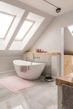Loft Bathroom, Bathroom Plans, Upstairs Bathrooms, Family Bathroom, Bathroom Renos, Dream Bathrooms, Beautiful Bathrooms, Small Bathroom, Wooden Room