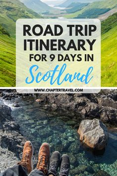 Read our Travel Itinerary for a 9 day Road Trip in Scotland for inspiration for your road trip through Glasgow, Glencoe, Isle of Skye and Edinburgh. Travel Jobs, Ways To Travel, Europe Travel Tips, Best Places To Travel, Travel Guides, Travel Destinations, Travel Advise, Backpacking Europe, Travel Hacks