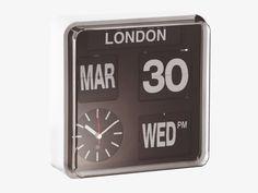 Horloge Flap Multi-city by Habitat