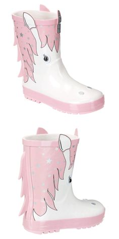 How cute are these Unicorn 3D Wellies!?