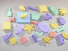 Cómo hacer Sellos o estampas de esponja con reciclados - YouTube