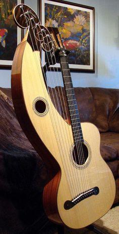 Bearsdell Harp guitar