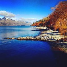 Literally the view from our office! You gotta love Queenstown. Perfection by @completelywanderlust on Insta <3