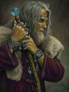Eron by Chris Down - Fantasy Art, Celtic Art, Fairy Art, Gothic Art and Steampunk Art