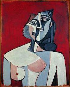 Pablo Picasso , Torso of a Woman, 1953. Tel Aviv Museum of Art