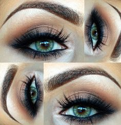 Love this look! Especially for my green eyes :)