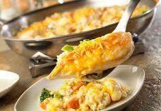 Skillet Cheesy Chicken & Rice