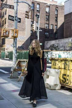The slip dress never fails to prove its versatility. For a street-chic statement, try layering a bell-sleeved ribbed knit under a slip dress with frilled details. For more of a mod-minimal look,...