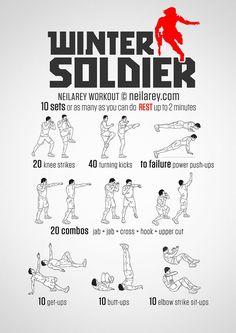 winter soldier workout