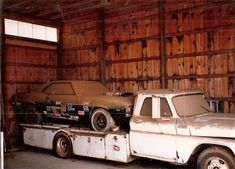 For sale 1989 chevrolet ramp truck car hauler hodges 27443764 729 1996 73 hodges ramp truck hauler jpg ford drag team ramp truck. Vintage Race Car, Vintage Trucks, Rat Rods, Automobile, Car Barn, Roadster, Rusty Cars, Abandoned Cars, Abandoned Property